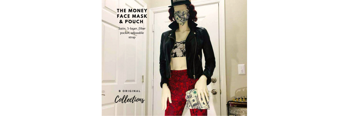 The Money Face Mask and Pouch