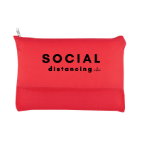 Social Distancing Face Mask Pouch